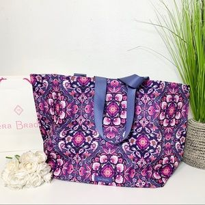 VERA BRADLEY LIGHTEN UP LARGE TOTE BEACH BAG